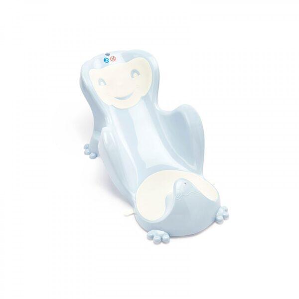 Ανατομική θέση μπανιέρας Thermobaby Baby Cocoon Blue