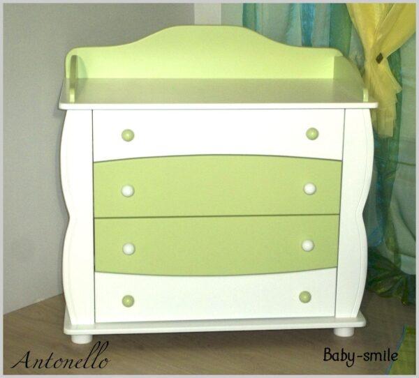 Βρεφική Συρταριέρα Baby Smile Antonello