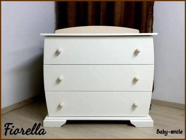 Βρεφική Συρταριέρα Baby Smile Fiorella