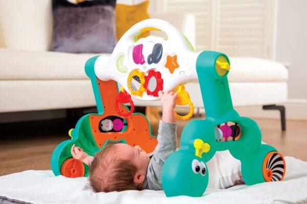 Βρεφικό Γυμναστήριο & Στράτα Infantino 3 σε 1 Grow With Me Fun Gym Walker