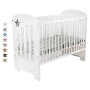 Βρεφικό Κρεβάτι Just Baby Stern White