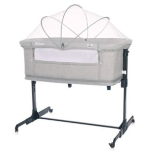 Βρεφικό Λίκνο Lorelli Crib Milano 2 in 1 Grey