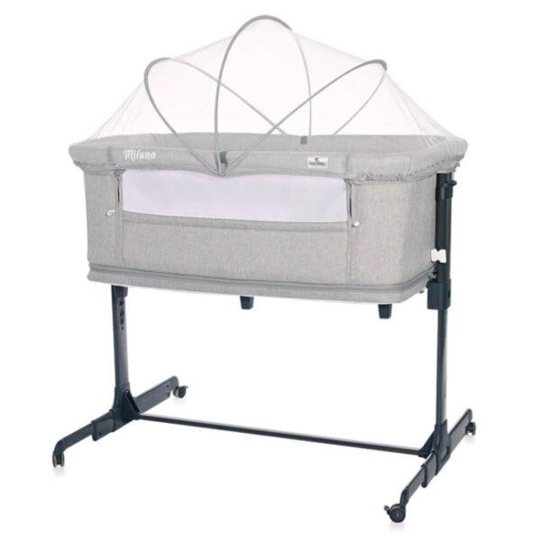 Βρεφικό Λίκνο Lorelli Crib Milano 2 in 1 Grey