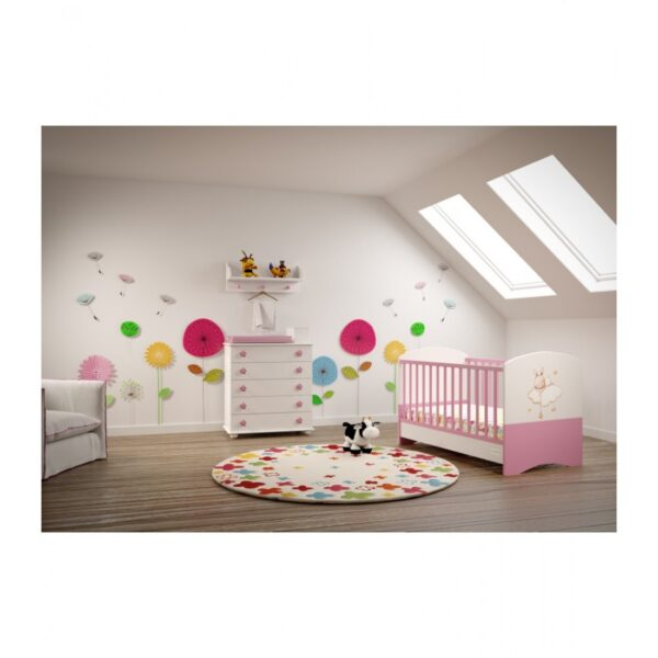 Bρεφικό κρεβάτι Asterias Bebe Φένια