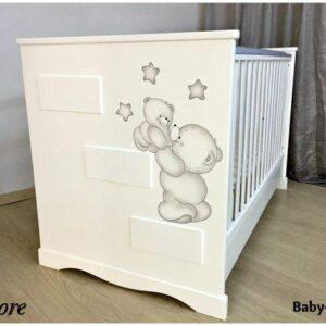Bρεφικό κρεβάτι Baby Smile Amore