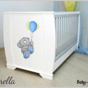 Bρεφικό κρεβάτι Baby Smile Fiorella