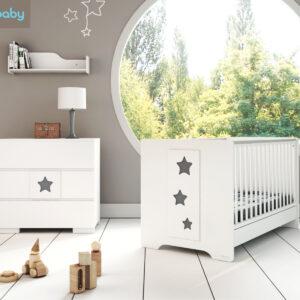 Bρεφικό κρεβάτι Casababy Stars