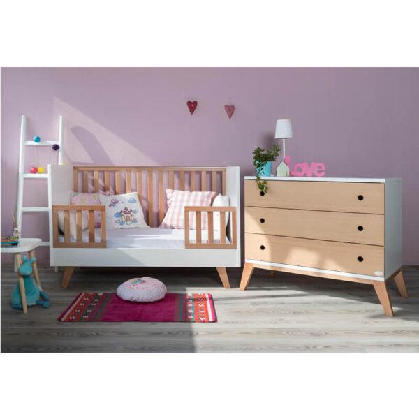 Bρεφικό κρεβάτι Santa bebe Luna