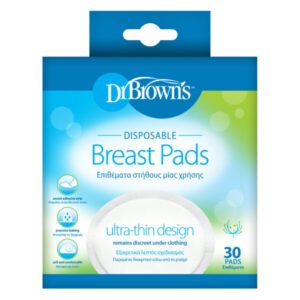 Eπιθέματα στήθους Dr. Brown's μιας χρήσης 30τμχ