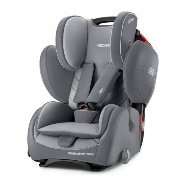Kάθισμα αυτοκινήτου Recaro Young Sport Hero Aluminium Grey 9-36 kg
