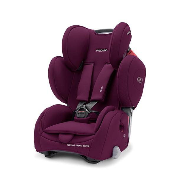 Kάθισμα αυτοκινήτου Recaro Young Sport Hero Very Berry