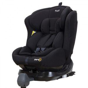 Kάθισμα αυτοκινήτου safe 6 Bamm-Bamm Black fix