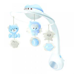 Mουσικό περιστρεφόμενο Infantino 3 σε 1 projector musical mobile Blue