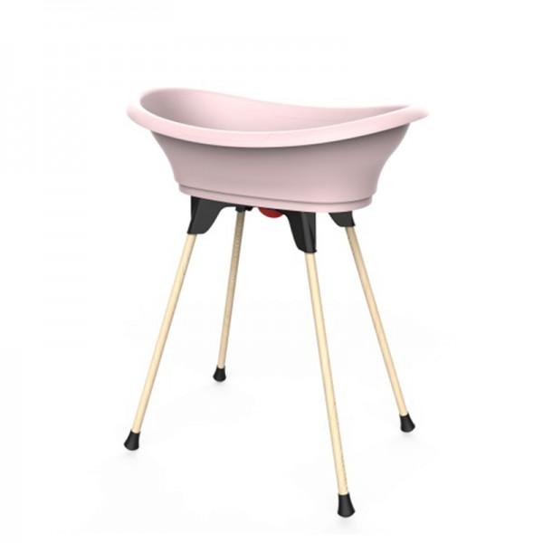 Βρεφική Μπανιέρα με Βάση Vasco Kit Pink
