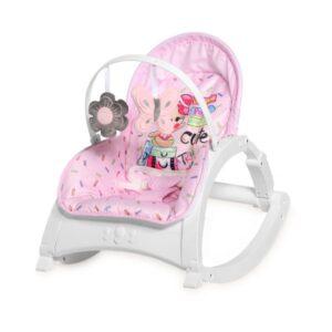 Βρεφικό Ρηλάξ Lorelli Baby Rocker Enjoy Pink Travelling
