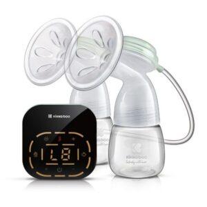 Διπλό Θήλαστρο Kikkaboo Ηλεκτρικό Double LED electric breast pump Elia