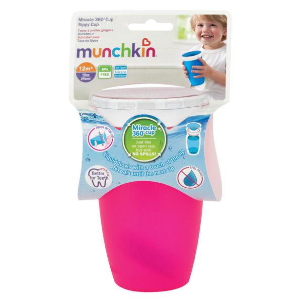 Εκπαιδευτικό κύπελλο Munchkin 360o Miracle Sippy Cup 296ml