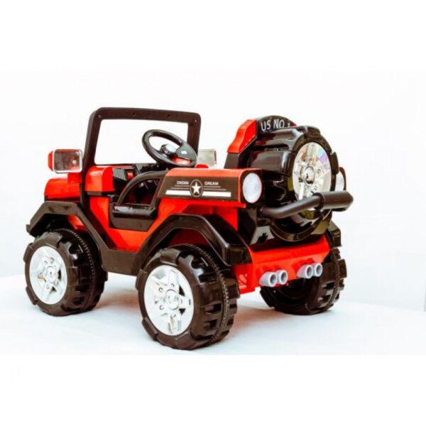 Ηλεκτροκίνητo Αυτοκίνητο Kikka Boo Megalodone Red