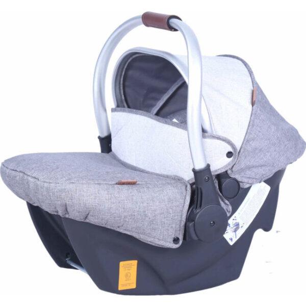 Κάθισμα Αυτοκινήτου Carello Cocoon 0+ Silver Grey 0-13 kg