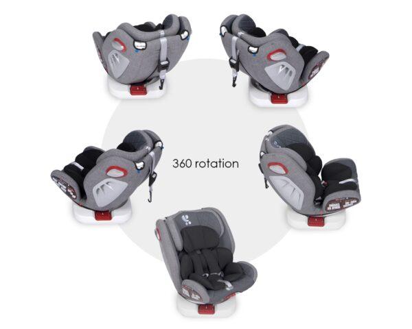 Κάθισμα Αυτοκινήτου Lorelli Roto 360° Isofix 0-36kg Grey