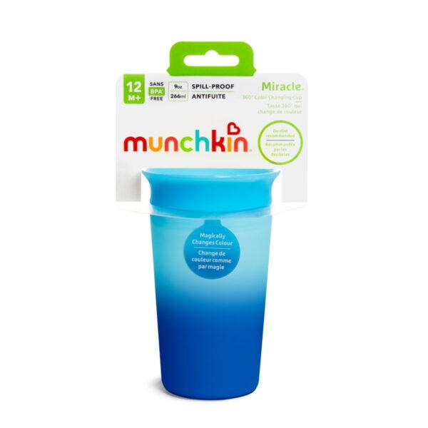 Κύπελο Miracle 360° Munchkin Color Changing Cup 296ml Blue