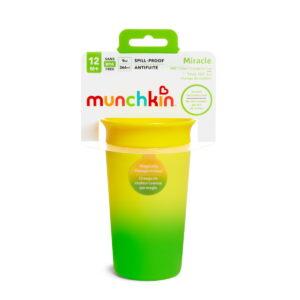 Κύπελο Miracle 360 Munchkin Color Changing Cup 296ml Yellow