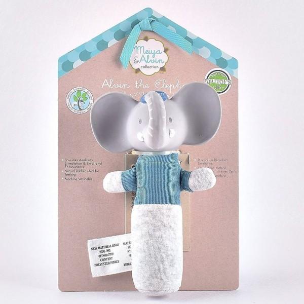 Μασητικό ποντικάκι Soft squeaker alvin ο ελεφαντάκος