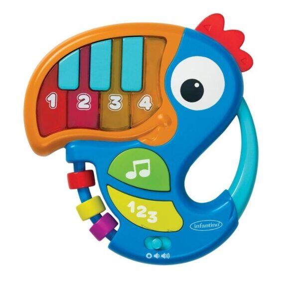 Μουσικό Παιχνίδι Infantino Piano & Numbers Learning Toucan