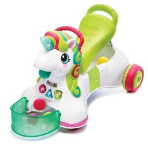 Περπατούρα Στράτα Infantino 3 in 1 Sit Walk Ride Unicorn