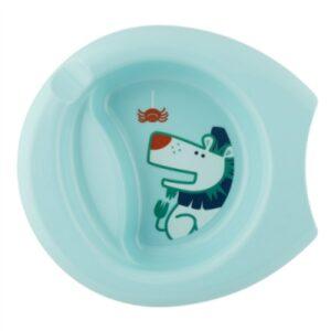 Πιάτο Εκπαιδευτικό Chicco 6M+ Blue