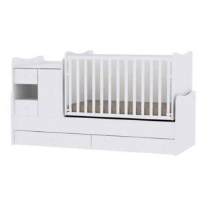 Πολυμορφικό Κρεβατάκι Lorelli Minimax White