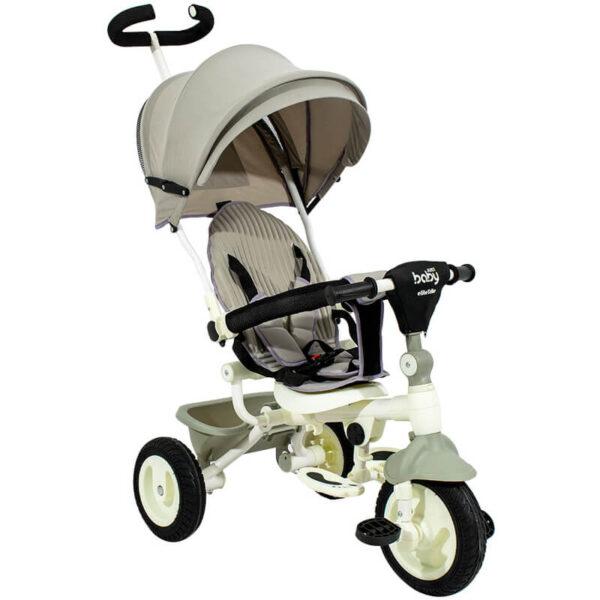 Τρίκυκλο Ποδήλατο Πτυσσόμενο Just Baby Elite Beige