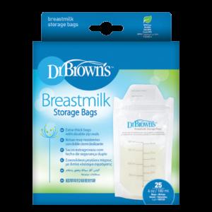 Σακουλάκια φύλαξης Dr. Brown's μητρικού γάλακτος