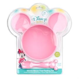 Σετ Φαγητού Bumkins Minnie Pink+ 4m
