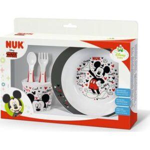 Σετ Φαγητού Nuk Disney Mickey 6m+