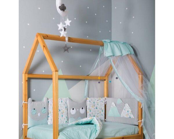 Σετ προίκας Baby Star Nordic the Bear Mint 3τμχ