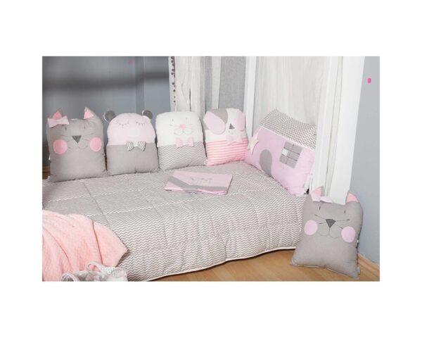 Σετ προίκας Baby Star Sugar Family Pink 3τμχ