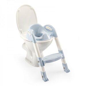 Στεφάνι WC με σκαλοπάτι Thermobaby Kiddyloo Blue