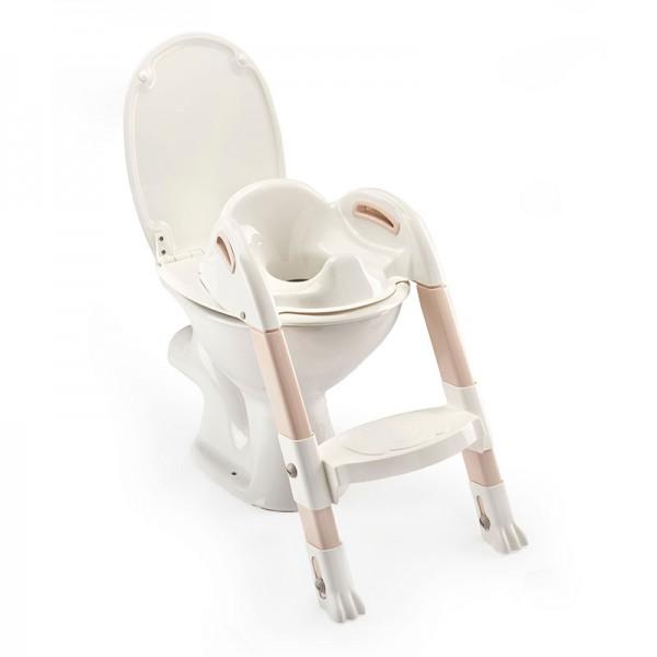 Στεφάνι WC με σκαλοπάτι Thermobaby Kiddyloo Brown